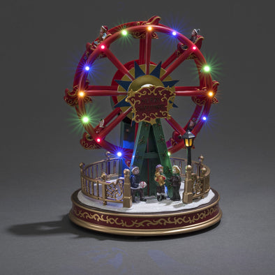 Animated Musical Christmas Scene : Mains Or Battery : Ferris Wheel