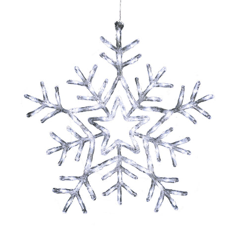 Konstsmide 4470-203 Large Snowflake  90 Bright White LEDs