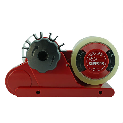 MoTEX MTX-03SUPERIOR Easy Tape Automatic Tape Dispenser  Superior Red