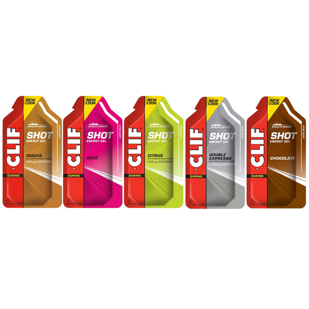 Clif  Clif Shot Gels  10 Pack Mixed Flavours