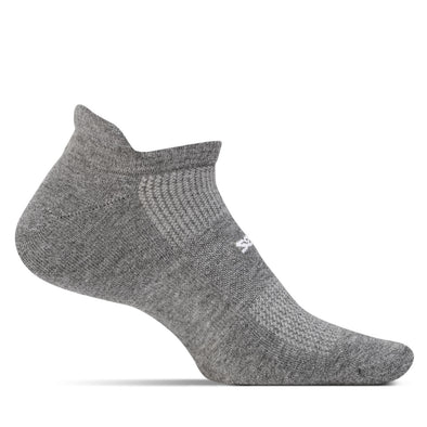 Feetures FE-112524 High Performance  Light Cushion  NST  Heather Gray  XL