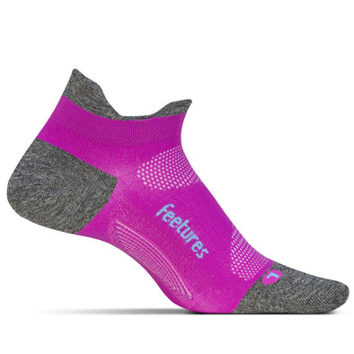 Feetures FE-121045 Feetures Running Socks  Elite Ultra Light  NST  Fuschia Pop  L