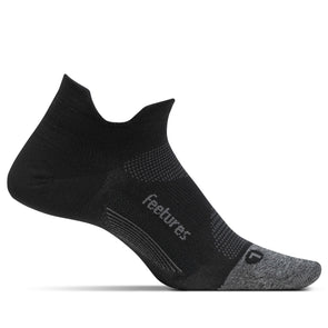 Feetures FE-121694 Feetures Running Socks  Elite Ultra Light  NST  Black  XL