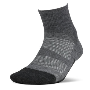 Feetures FE-122813 Elite  MAX Cushion  Quarter  Gray  XL