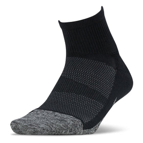 Feetures FE-122899 Elite  Light Cushion  Quarter  Black  XL