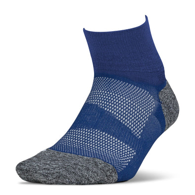 Feetures FE-122936 Elite  Light Cushion  Quarter  Sapphire  XL