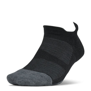 Feetures FE-123575 Feetures  Merino 10  Ultra Light  NST  Charcoal  XL
