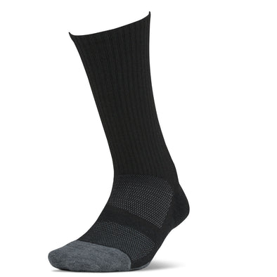Feetures FE-125418 Feetures Merino 10  Cushion  Crew  Charcoal  XL