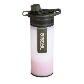 GRAYL GR-004614 Grayl GEOPRESS Water Purifier Bottle with Filter  Alpine White
