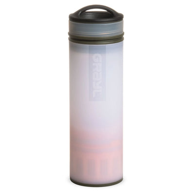 GRAYL GR-004898 Grayl Ultralight Compact Water Purifier Bottle with Filter  Alpine White CHANGE
