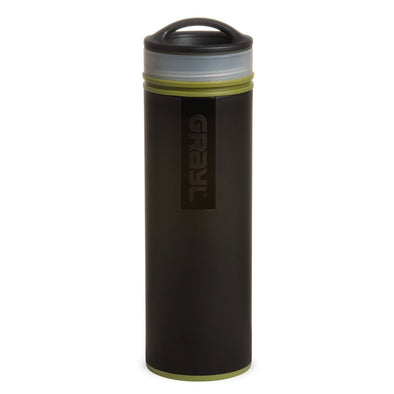 GRAYL GR-004904 Grayl Ultralight Compact Water Purifier Bottle with Filter  Camo Black