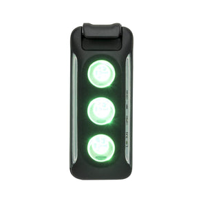 Nathan NA-91721 Nathan Lux Strobe RX  Rechargeable  Black