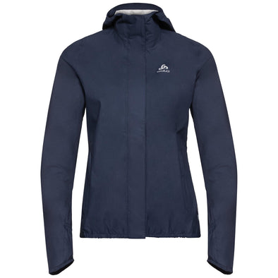 ODLO 528471.20377.L Odlo FLI 25L Waterproof Running Jacket  Diving Navy  Womens  L
