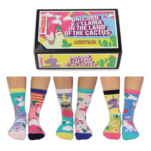 United Odd Socks CACTUS Land of the Cactus Odd Socks  Adult Size UK 48