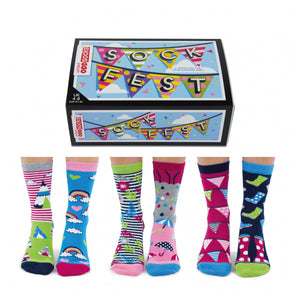 United Odd Socks FEST Sock Fest Odd Socks  Adult Size UK 48