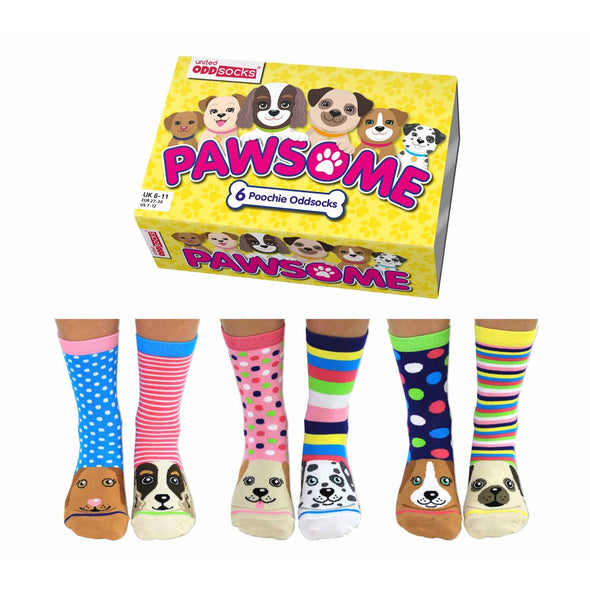 United Odd Socks PAWS Pawsome Odd Socks  Adult Size UK 48