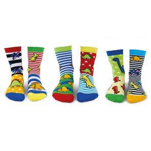 United Odd Socks SAURUS Sockasaurus Odd Socks  Child Size UK 912