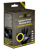 Black Mamba Nitrile Workshop Gloves : Box of 8