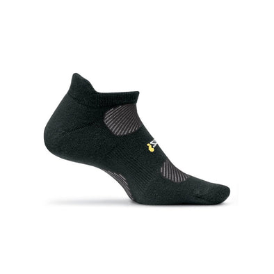 Feetures! FE-11248 Running Socks  High Performance Light Cushion  NST  Black  XL