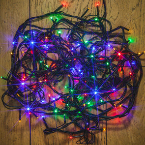 Noma 2114168 Noma 240 LED Christmas Tree Lights  BatteryTimer  Multicoloured