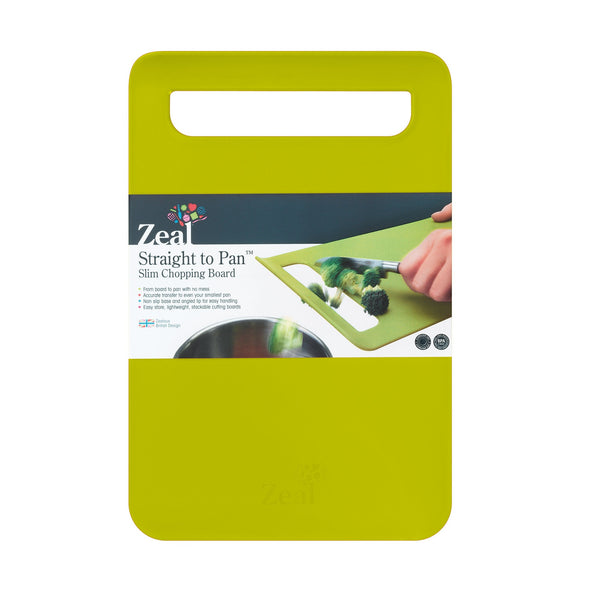 Zeal L203L Zeal Slim Chopping Boards  Large  Lime Green
