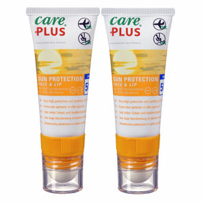 Care Plus 36152 Sun  Ski Suncream and Lipbalm Twin Pack