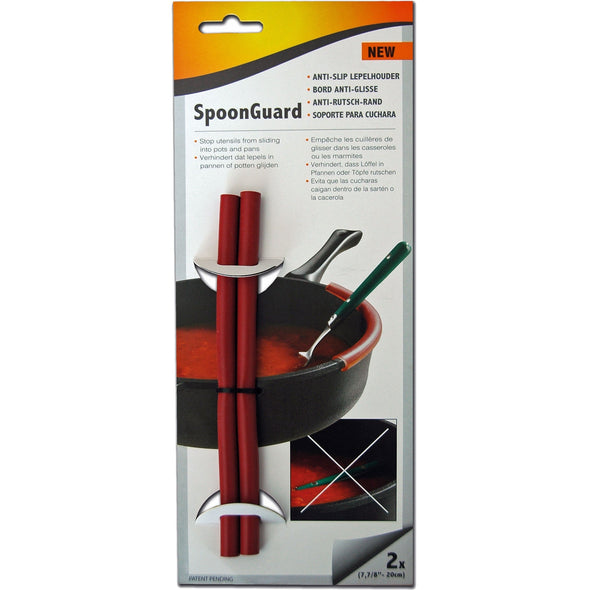 NoStik SPOONGUARD SpoonGuard  Protects Against Saucy Spoons  Pack Of 2