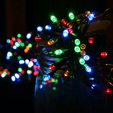 Noma 2114162 Noma 96 LED Christmas Tree Lights  BatteryTimer  Multicoloured
