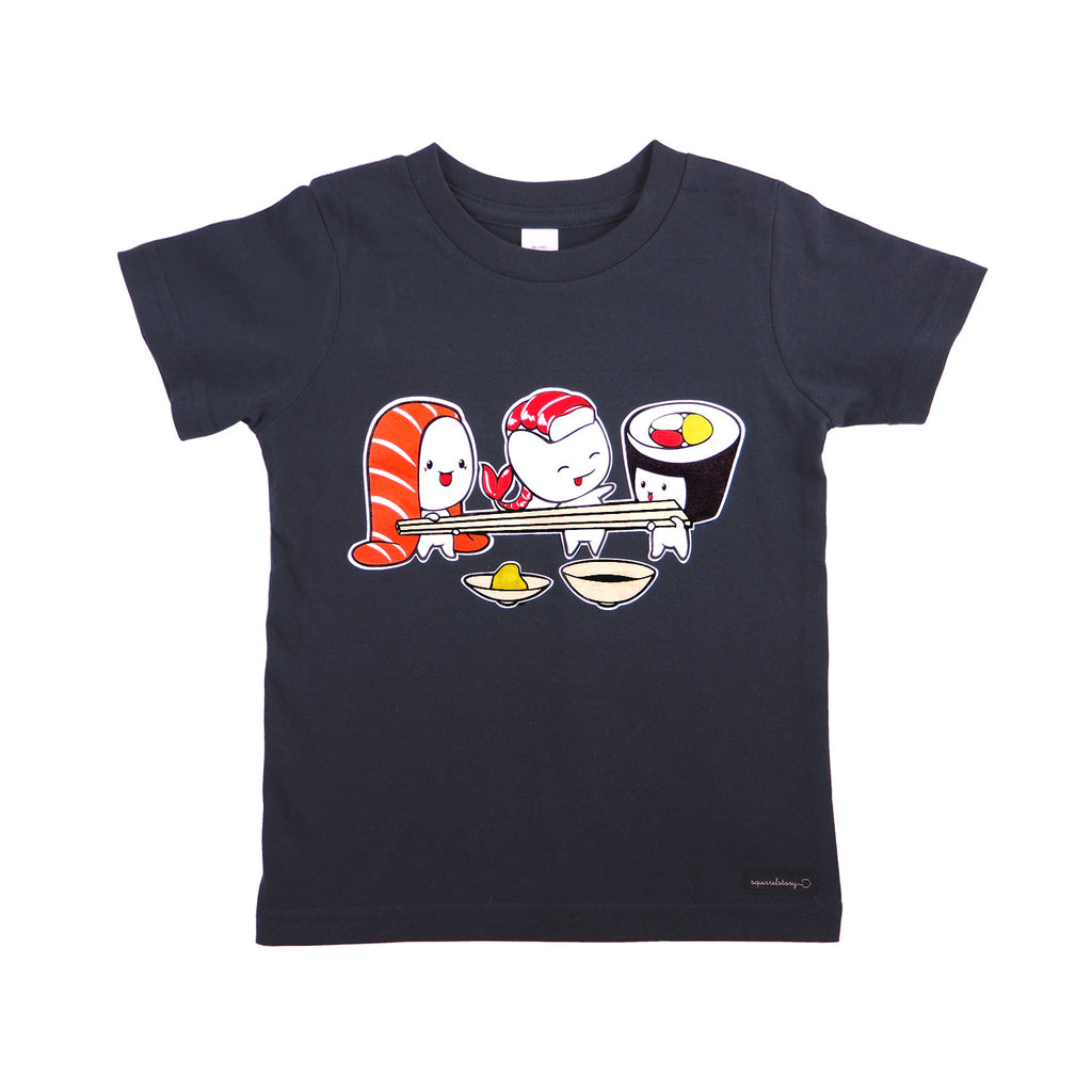 Let's Have Sushi T-Shirt by Squirrel Story, Squirrel Story - 1