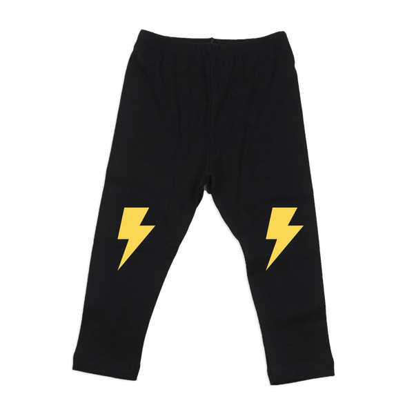 Lightning Bolt Leggings by Whistle & Flute, Squirrel Story - 1