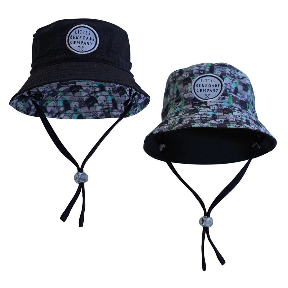 Bears and Beasties Reversal Bucket Hat
