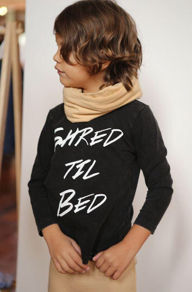Shred till Bed Long Sleeve Tee