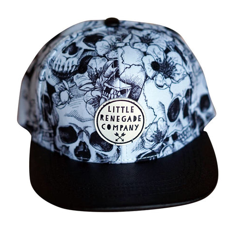 Skulls in Bloom Cap