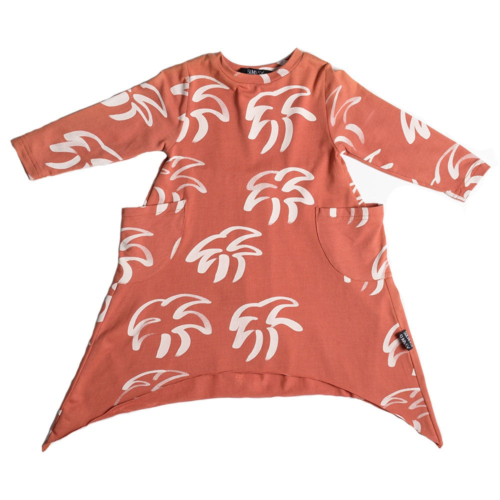 Tropicool Longsleeve Skatey Dress