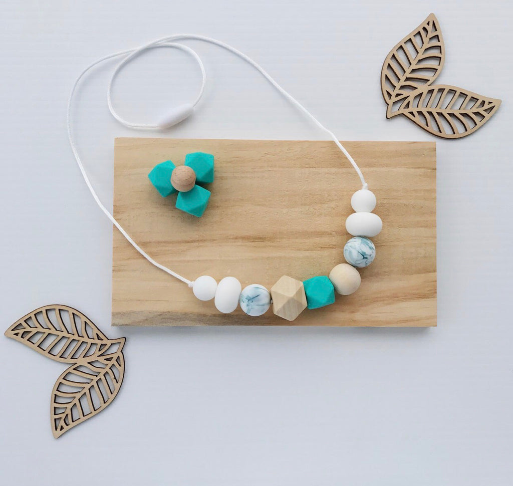 Hayman Chew Necklace - Teal