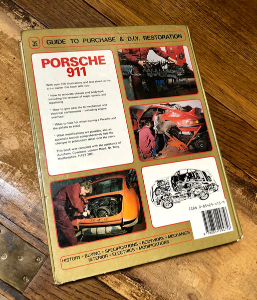 Porsche 911 - Guide to purchase and DIY restoration