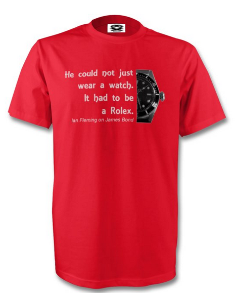 Short sleeved Rolex T-shirt