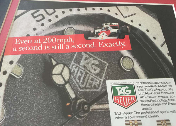 Tag Heuer - 200mph 1987 advert
