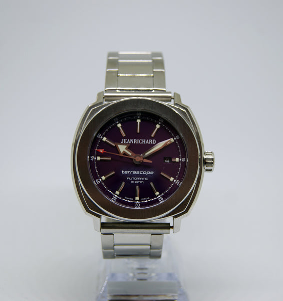 JeanRichard Terrascope automatic with free shipping