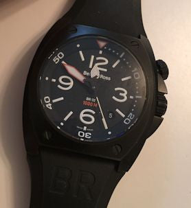 Bell & Ross BR02 automatic dive watch with free UK shipping