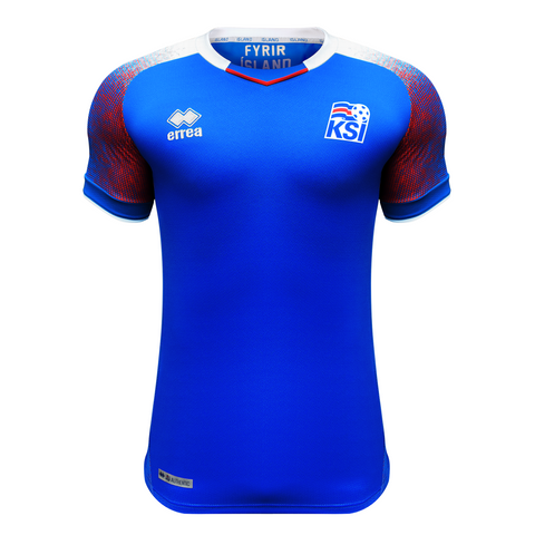 the best attitude 78497 a7ab0 Iceland World Cup 2018 Official Home Jersey – Errea