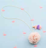 Pom Pom & Tassel Necklace NYA-2013