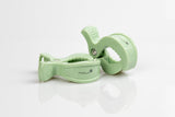2er Clips - forest green
