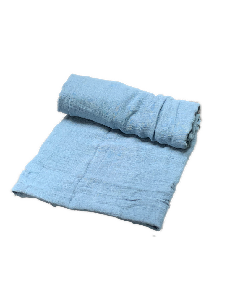 Mini Swaddle Bamboo - night blue
