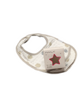 BIB - dots beige & grey