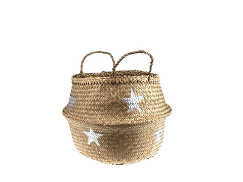 Belly Basket - silver star