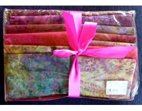 Batik Thirteen Fat Quarter Quilt - Kit