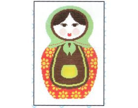 Bright Babushka - Cross Stitch Kit