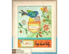 Family Hugs - Embroidery Kit