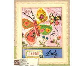 Laugh Daily - Embroidery Kit